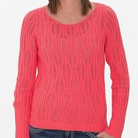 Women's Neon Sweater in Pink by Daytrip.