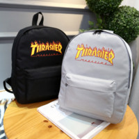 THRASHER Trending Fashion Sport Laptop Bag Shoulder School Bag Backpack