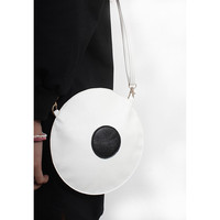 Circle Leather Purse