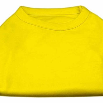 Plain Shirts Yellow Med (12)