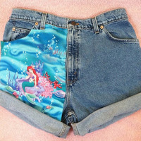 High Waisted Ariel Shorts