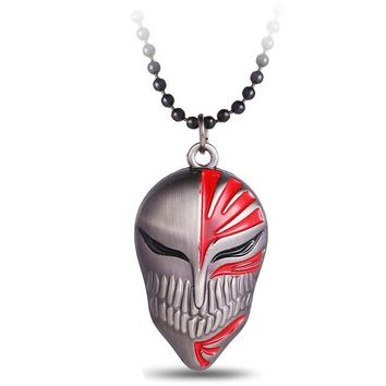 Bleach Kurosaki Mask Alloy Metal Anime Necklace