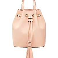 Tasseled Bucket Backpack - Accessories - 1000230686 - Forever 21 EU English