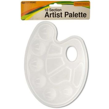 10 Section Artist Paint Palette