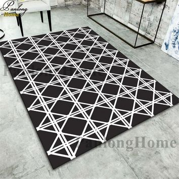 Autumn Fall welcome door mat doormat PanlongHome 15Kinds Nordic Style 3D Large Carpet For Living Room Bedroom Bedside Coffee Table Restaurant  Non-slip Mat AT_76_7