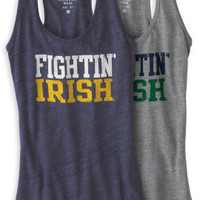 LEAGUE COLLEGIATE WEAR : University of Notre Dame Fighting Irish Women's Tank : Hammes Notre Dame Bookstore