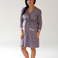 Dottie Maternity, Delivery, Nursing Robe