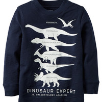 Glow-In-The-Dark Dino Tee