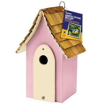 Country Cottage Nest Box Pink