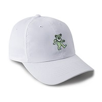The Jam Bear Performance Hat in White by Imperial Headwear