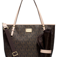 Michael Michael Kors Jet Set Signature Monogram Diaper Bag