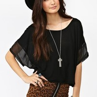 Wicked Crop Top  in  What's New at Nasty Gal