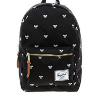 Herschel Settlement Plus Tennis Racket Print Backpack at asos.com