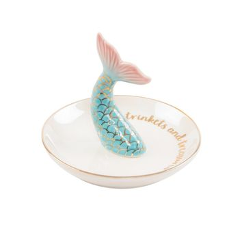 Mermaid Tail Jewelry Dish