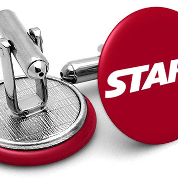 Stark Industries Logo Cufflinks