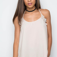Clara Lace Top in Ivory