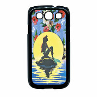 Disney Princess Ariel The Little Mermaid Floral Vintage Samsung Galaxy S3 Case