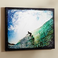 Surf Words Wall Art