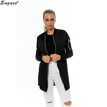 Trendy Womens Warm Outerwear Long Coat Autumn Slim Cotton Casual Solid Soft Fashion Simple Girls Trench Sportwear Out Coat Aug23