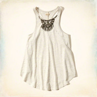 Shine Necklace Swing Tank