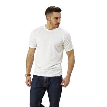 Adult Short Sleeve Crew neck Slim Fit  Lightweight
