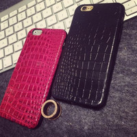 Fashion PU phone case for iphone 5 5s SE 6 6s 6 + Nice gift box 072702