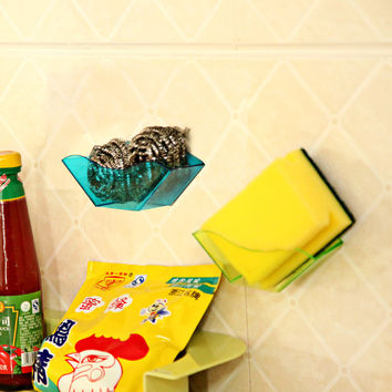 Plastic Creative Storage Kitchen Rack = 4877837316