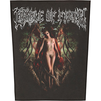 Cradle Of Filth Men's Deflowering The Maidenhead Back Patch Black