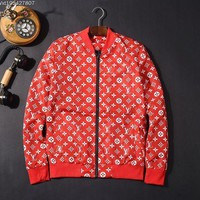 ONETOW Sale Louis Vuitton LV Luxury Red White Jacket