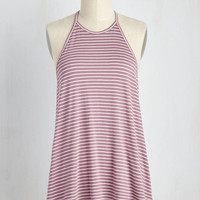 Swing Fling Top in Mauve | Mod Retro Vintage Short Sleeve Shirts | ModCloth.com