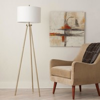 Tripod Floor Lamp - Antique Brass - Threshold™