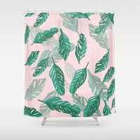Tropical Shower Curtain by sm0w