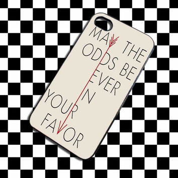 Hunger Games Quote iPhone 4, iPhone 4S, iPhone 5, Samsung Galaxy S3, Samsung Galaxy S4 Case