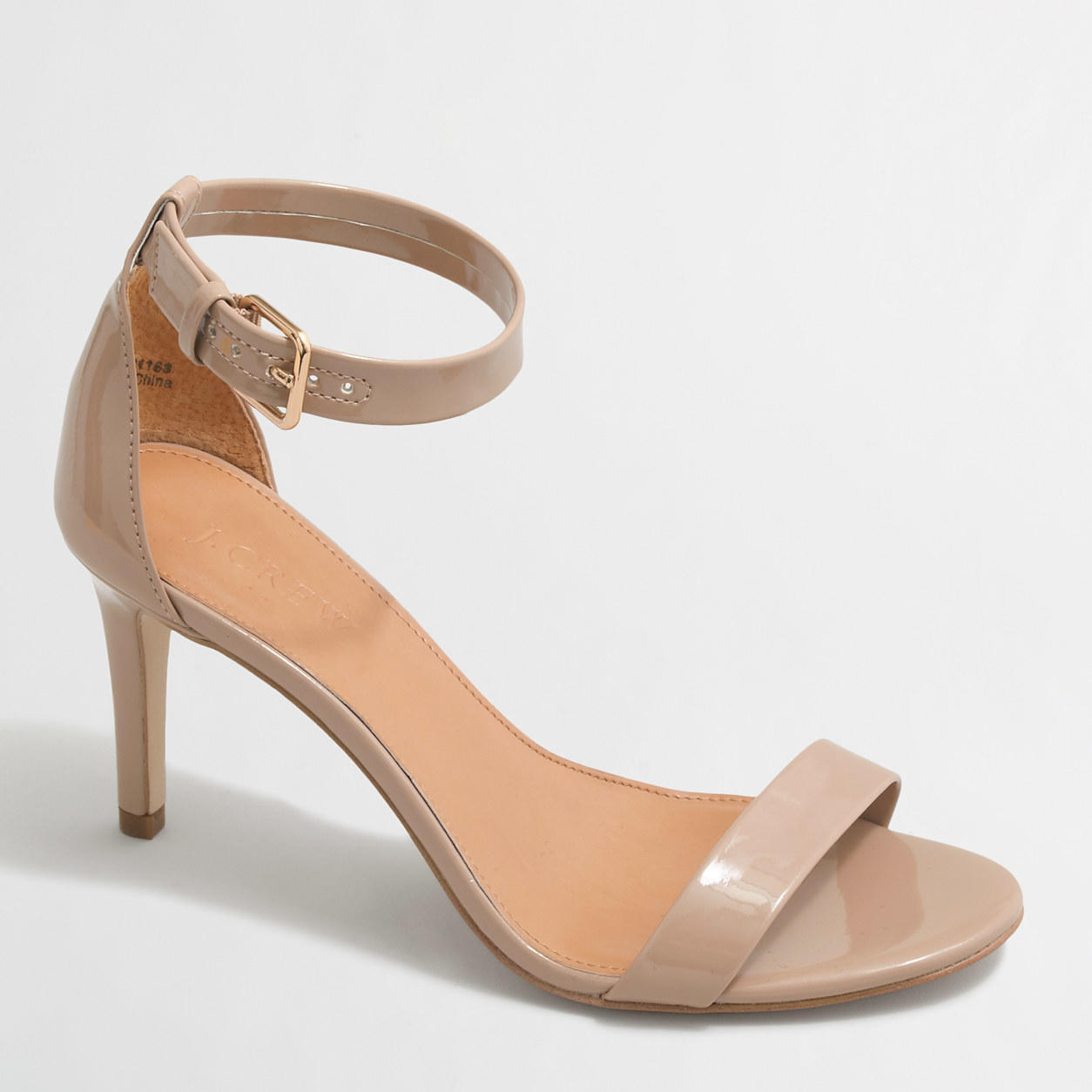 Factory Patent High Heel Sandals Shoes From J Crew Factory