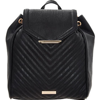 Carvela Black Chain Strap Backpack
