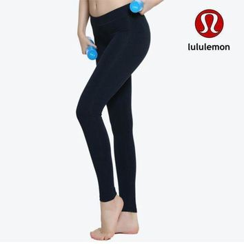 ESBNQ2 Lululemon Women Fashion Gym Yoga Exercise Fitness Leggings Sweatpants-6