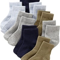 Old Navy Crew Sock 8 Packs For Baby