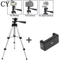Tripod For Phone Camera Tripod Stand + Holder For IPhone 6s 7Plus For IOS Android Phone Mini Tripod