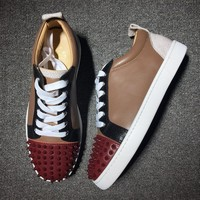 Cl Christian Louboutin Low Style #2012 Sneakers Fashion Shoes