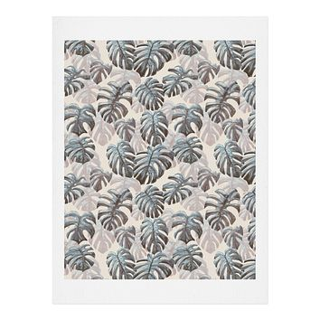 Dash and Ash Palm Springs Blues Art Print