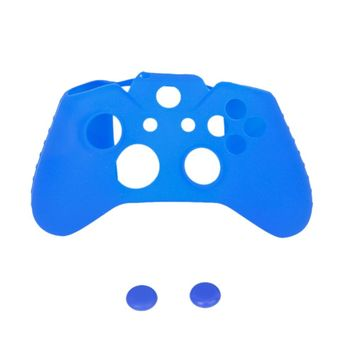 Silicone Protective Skin Case Cover + 2 Caps for XBOX ONE Game Controller Joystick
