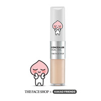 [THE FACE SHOP] Concealer Dual Vale (Apeach) V107 Ivory Beige