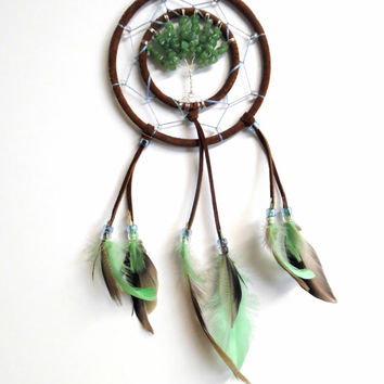 Aventurine Tree of life Dream Catcher