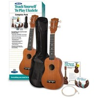 Amazon.com: Alfred's Teach Yourself to Play Ukulele, Complete Starter Pack: Musical Instruments