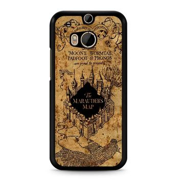 Harry Potter The Marauders Map HTC M8 Case