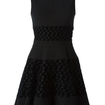 David Koma flared dress