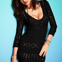 Crochet Tunic Sweater - Victoria's Secret