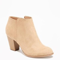 Sueded Ankle Boot for Women | Old Navy