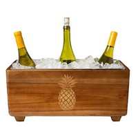 Cathy's Concepts Wooden Wine Trough | Nordstrom