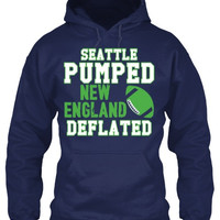 Seattle Pumped New England Deflated